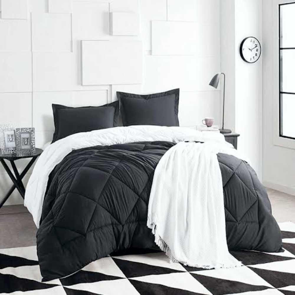 Black White Luxury Bedding Set Corazon Luxury